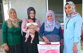 Bebek Projesi Kapsamında Yeni Doğan Ziyaretleri