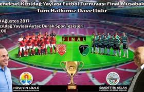 Kızıldağ Futbol Turnuvasında Final Heyecanı
