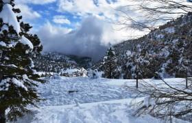 Kızıldağ Yaylamızdan Kar Manzaraları