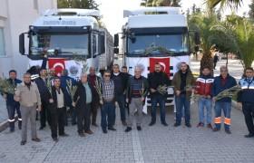 Karaisalı Belediyesi'nden Afrin'e 2 Tır Su Yardımı