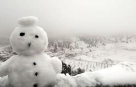Kızıldağ Yaylamızdan Kar Manzarası
