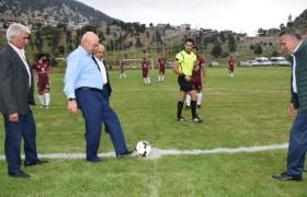Futbol Heyecanı Kızıldağ Yaylası'nda Başladı
