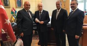Başkanımızdan, MHP Lideri Bahçeli'ye Murt Kolanyası