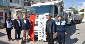 Mehmetçiklerimize ve Türkmen Ailelere Su Yardımı