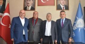 Başkan Aslan'dan AK Parti İlçe Teşkilatına Ziyaret
