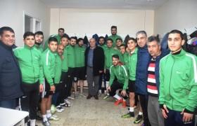 Başkan Aslan'dan Karaisalıspor'a Destek