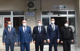 Vali Elban Belediyemizi Ziyaret Etti