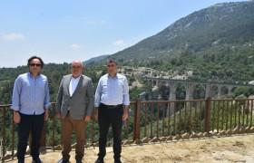 TCDD Genel Müdürü Varda Köprüsü'ne Ziyaret Gerçekleştirdi