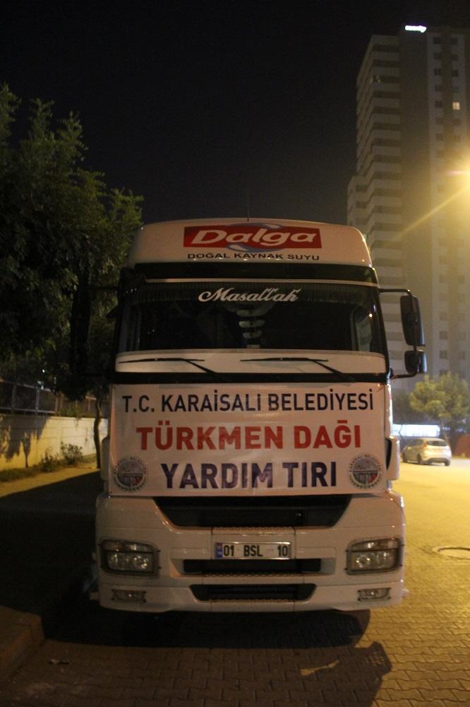 Belediye Başkanımız Saadettin Aslan Türkmenleri Yalnız Bırakmadı