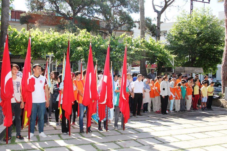 İlçemizde, 19 Mayıs Gençlik ve Spor Bayramı Kutlandı