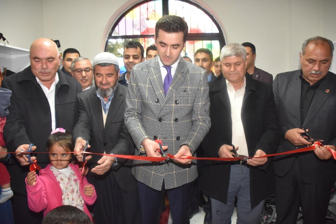Karaisali Belediyesi Kres ve Gunduz Bakimevini Hizmete Acti (1)